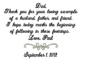 Father Of The Groom Wedding Speech Quotes